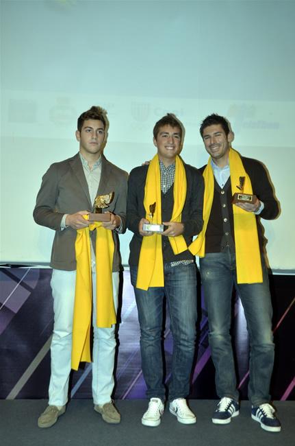 Federico Paris , Stefano Trasatti e Simone Pardini